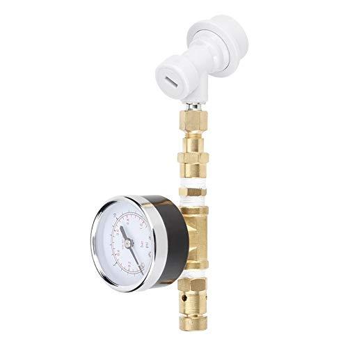Kupfer-Überdruckventil-Baugruppe, Kugelverriegelung mit einstellbarer Überdruckventil-Baugruppe 0-15 psi (0-1 bar) Brauanlage, einstellbares Überdruckventil