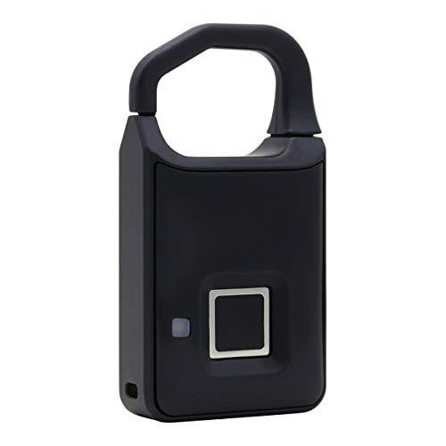 Bolsa de bloqueo inteligente Bloqueo de huellas dactilares para maleta Lock Estudiante Dormitorio Almacén Puerta Anti-Robo Lock Ultra-Long Standby Candado electrónico