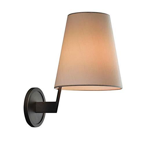 Luxe koperen nachtwandlamp enkele kop minimalistische persoonlijkheid sfeervolle spiegel kast wandlamp afdekking/wandafstand 260 * diameter 180 * hoogte 320 mm LED lamp