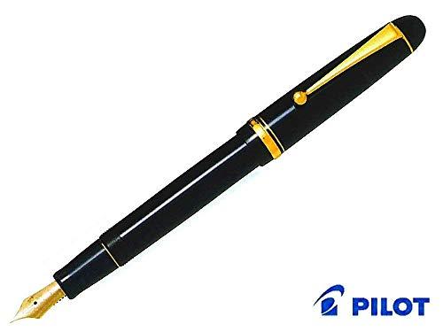 Pilot Pluma estilográfica Custom 74, punta BB, cuerpo negro (FKK-1000R-B-BB)