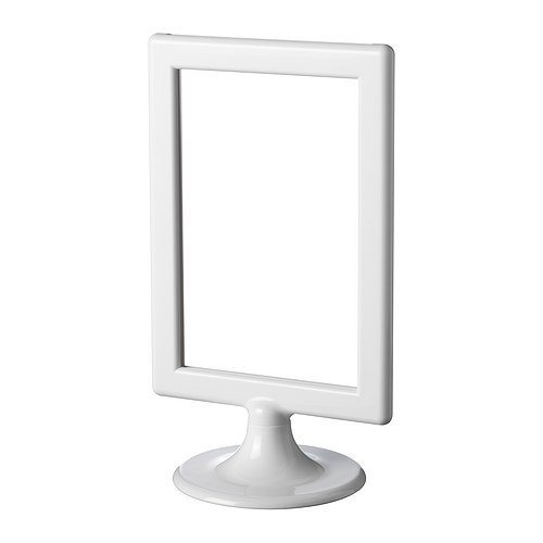 IKEA TOLSBY フォトフレーム メニュースタンド ホワイト 20個セット