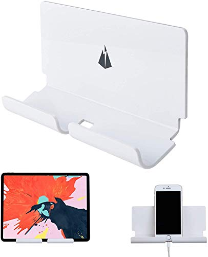XIALINR Soporte de la Tableta de la Tableta del teléfono Adhesivo de 3M para el iPad y los teléfonos Inteligentes, se Adapta a la Cocina, el baño, el Dormitorio y más (Color : Black)