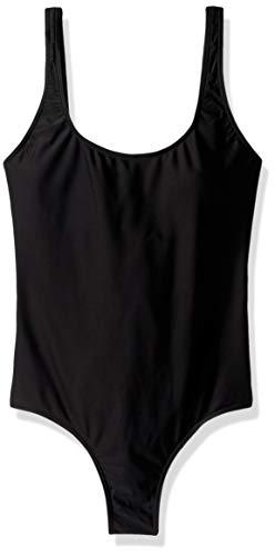 Rip Curl Junior's Classic SURF Tank ONE Piece Bikini Swimsuit, Black, M