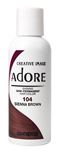 Adore Shining Semi-Permanent Haarfarbe, 104 Sienna Brown