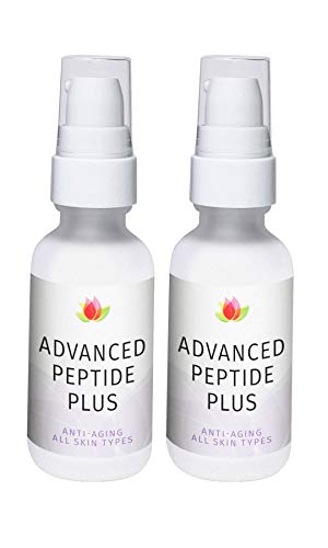 Reviva Labs Anti-Aging Advanced Peptide Plus with Vitamin C Ester & DMAE, 1 ounce (Pack of 2)