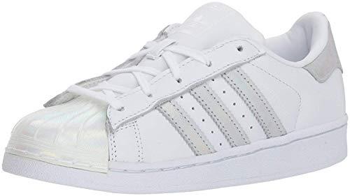 adidas Originals Superstar, Zapatillas Unisex niños, Blanco Blanco Núcleo Blanco, 48 2/3 EU
