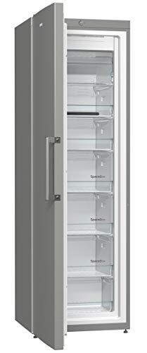 Gorenje FN 6192 CX Gefrierschrank / 185 cm Höhe / 238 kWh / Jahr / 246 l Gefrierteil / Abtau-Vollautomatik NoFrost / Edelstahl Türen
