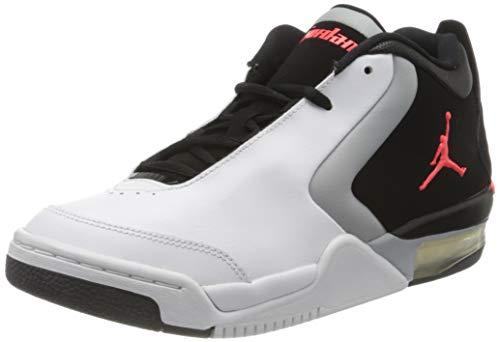 Jordan Herren Big Fund (Gs) Fitnessschuhe, Mehrfarbig (White/Infrared 23/Black/Lt Smoke Grey 000), 40 EU