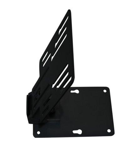 Dynamic-Wave TV Deckenhalterung Unterbauhalterung neigbar schwenkbar höhenverstellbar für Dachschrägen, Wohnmobile, Wohnwagen, Küchen verschiedene Modelle und Farben, Farbe:schwarz;UB-Variationen:UB-100