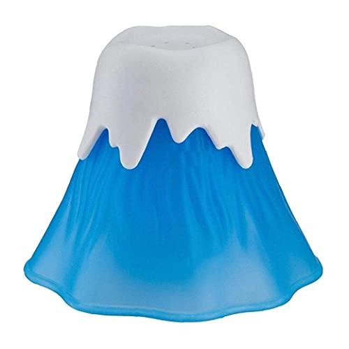 Runfon Microondas Limpiador de hornos microondas Volcán Limpiador de Vapor de Agua Que entra en erupción Vinagre Cocina de la Limpieza Gadget para la Seguridad del Azul