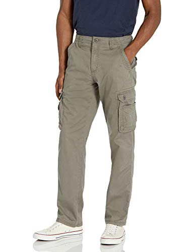 Lee Men's Wyoming Relaxed Fit Cargo Pant, Sagebrush, 34W x 30L