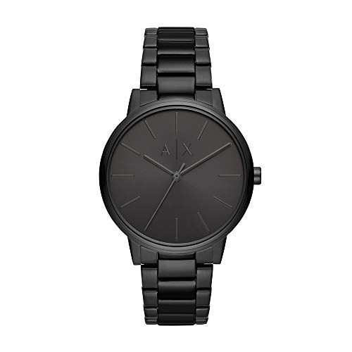 Reloj Armani Exchange Smart para Hombres 42mm, pulsera de Acero Inoxidable