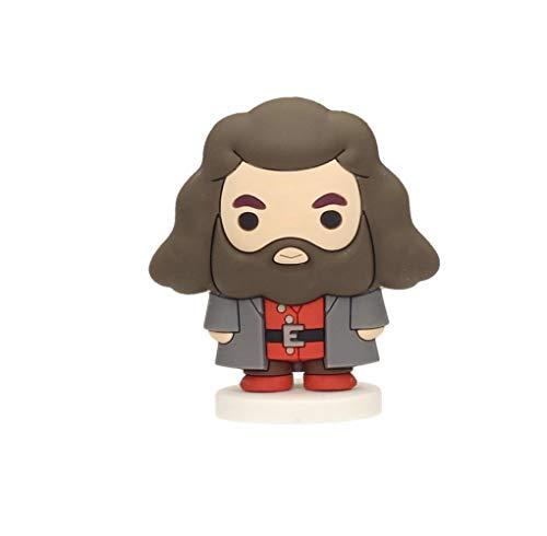 SD toys- Hagrid Mini Figura Goma Harry Potter, Color (SDTWRN22307)