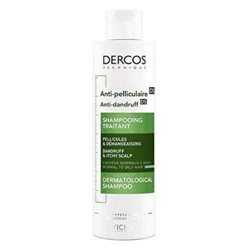 Vichy Shampoo Anticaspa Grasa, 1er Pack (1 x 200 ml)
