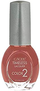 Timeless Nail Lacquer, Premium Nail Polish Color, Long Lasting Formula For Manicure, Pedicure, Salon, and Spa, 0.5oz (Things Got Terra-cotta Control, 698)