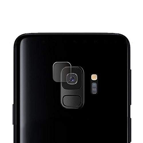 Agan AYDD Fibra Soft Fibra DE CÁMARA DE CÁMELA PELÍCULA DE Vidrio TEMPEMENTADA para Galaxy S9
