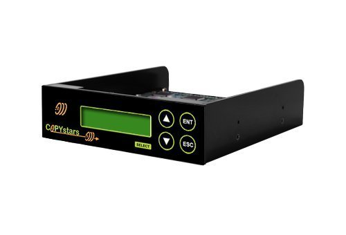 Copystars Blu Ray-CD-DVD-duplicator Controller 1 to 6 Support ISO File PC Transfer SATA Multi Target 128MB + sata Cables