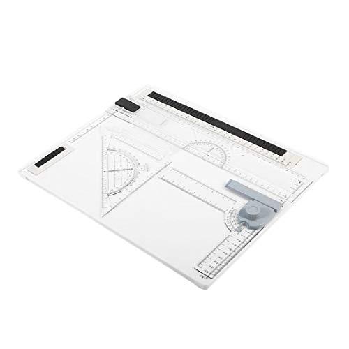 Swiftswan 38 * 30 cm A4 Reißbrett Büro Grafik Design Arbeit Drafting mit Lineal