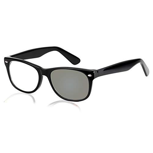 Marco De Hoja Retro Gafas De Lectura De Transición Fotocromáticas Inteligentes Para Hombres Y Mujeres Presbicia Hipermetropía Gafas De Sol Uv400 Con Dioptrías