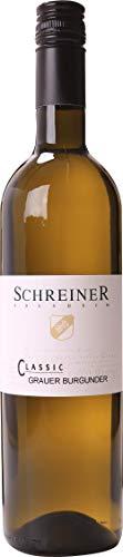Weingut Schreiner Grauer Burgunder Classic 3 x 0,75 Liter