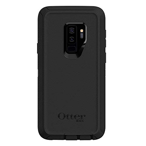 Rugged Protection OtterBox Defender Series Case for Samsung Galaxy S9+ Plus, Case Only - Bulk Packaging - Black