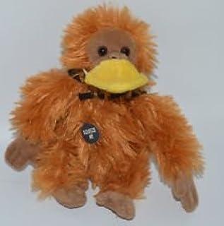 "Aflac Imposter 6"" Plush Talking Gorilla Orangutan Monkey Disguise with Duck Bill"