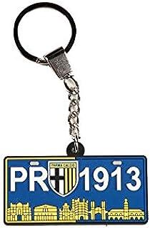 PARMA CALCIO 1913 Parma Porte-clés unisexe pour adulte, bleu, unique