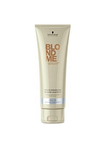 Schwarzkopf Blondme Blonde Light Cool Ice Brilliance Shampoo 250ml