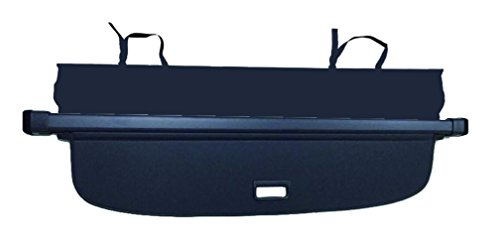 Cargo Cover for VW Volkswagen Tiguan 2018-2020 Black Trunk Shielding Shade by Kaungka(Upgraded version:There is no gap between the back seats and the cover (Black)