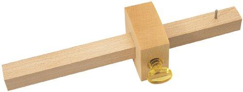 Charpentier Trusquin – Fabriqué à partir de bois de hêtre avec marquage simple durci éperons et tour en plastique à vis. Emballage de Présentation.