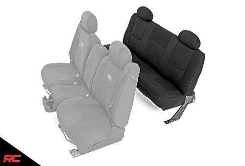 Rough Country 91014 Neoprene Seat Covers Rear...