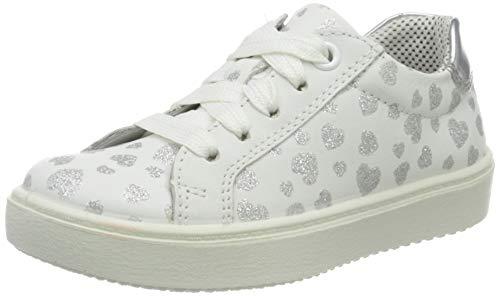 Superfit Mädchen Heaven Sneaker, Weiß (Weiss/Silber 11), 34 EU