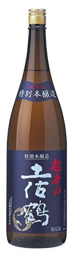 土佐鶴酒造 特別本醸造 超辛口 土佐鶴 [ 日本酒 高知県 1800ml ]