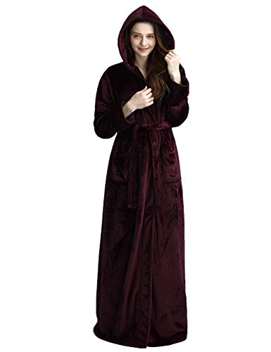 hooded bath robe for women
