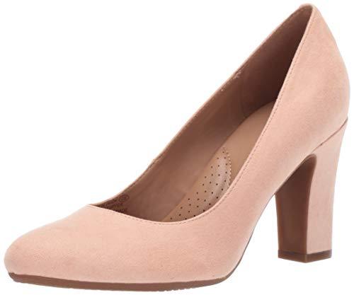 Aerosoles Women's Octagon Shoe, Pink Fabric, 5.5 M US