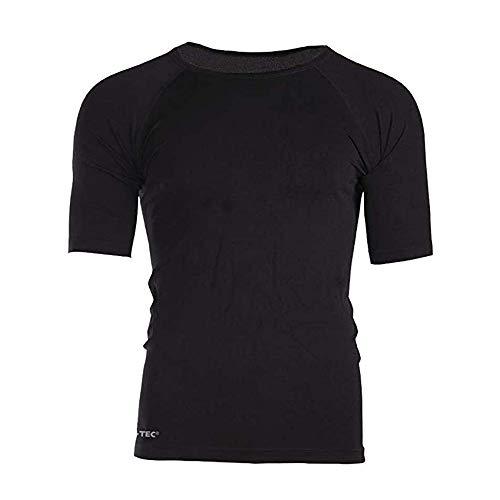 T-shirt Militaire Sports - Manche Courte - Noir