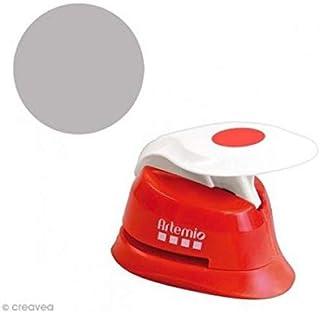 Artemio 1,6 cm Perforadora de círculos Eva, Rojo