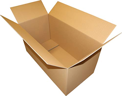 1 St. Faltkarton 1000x500x500 2-wellig braun 2.40 BC-Welle Versandverpackung 100x50x50 Umzugs Bücherkartons
