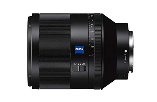 Sony Planar T FE 50mm f/1.4 Zeiss | Vollformat, Standardobjektiv mit Festbrennweite (SEL50F14Z)