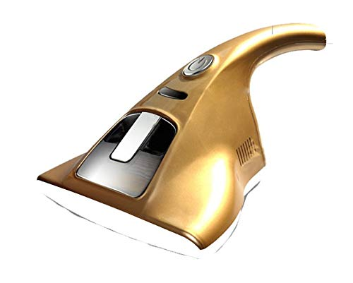 New UV Vacuum Cleaner - 2019 Upgraded UV Anti-dust Vacuum Cleaner, Powerful Suctions Effectively Remove Dust Hidden in Mattresses, Pillows, Curtains, Sofas and Carpets (Gold)