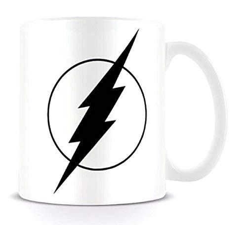 dc comics MG23654 DC Originals (The Flash Mono Logo) Mug, Céramique, Multicolore, 11oz/315ml