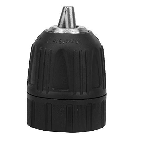 Mandrino Autoserrante A Guscio In Plastica Con Filetto 3/8-24UNF Mandrino Autoserrante Da 0,8 Mm-10 Mm Per Trapano Elettrico A Mano