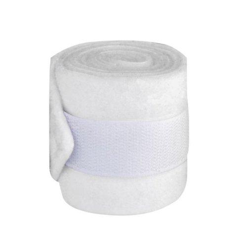 Fleecebandage Mini Shetty, 4er Set, weiß