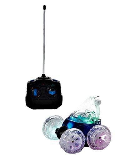 Mindscope Turbo Twisters BLUE 49 MHZ Bright LED Light Up Stunt RC Remote Control Vehicle by Mindscope