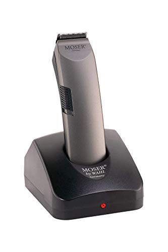 Moser Profiline Haarschneider / Trimmer 1556, Akku, Konturenschneidsatz, von 0,4mm + 3mm - 6,0mm