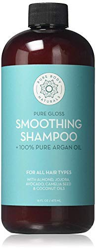 Pure Body Naturals Therapeutic Moroccan Argan Oil Repair Shampoo, 16 Ounce