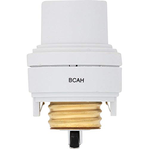 Westek 6603BC 150W 3-Level Touch Control Lamp Socket Dimmer, White, Single, Multi