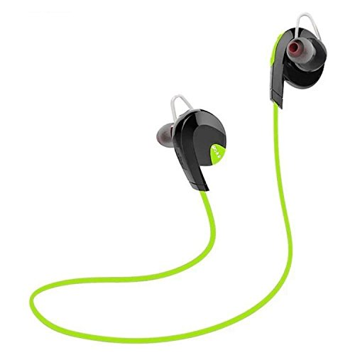 iROAR G-Force Sport Wireless Bluetooth 4.1 Earbud Headphones for iOS iPhone iPod Android Samsung Tablet - SIRI Enabled Microphone Noise-Cancelling Sweatproof Extended Battery Gym Run
