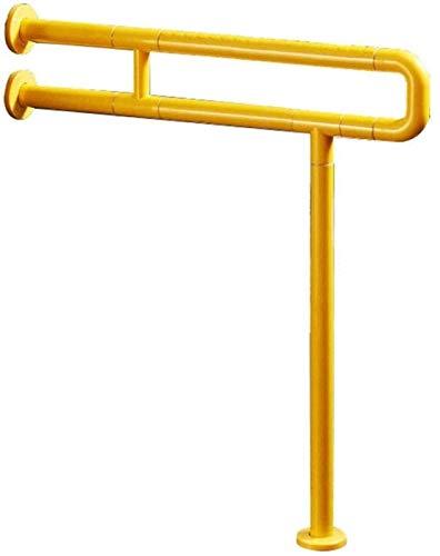 LIUYULONG Badegriff Griff Badezimmer Wand Sicherheit Haltegriff, alte Leute Nicht silp Sicherheit Haltegriff Armlehne, Badezimmer Handlauf Hilfswerkzeuge (Color : Yellow, Size : 60cm)