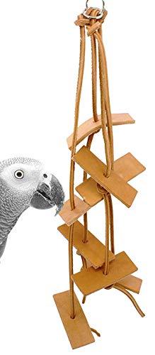 Bonka Bird Toys 1003 Cliff Leather Bird Toy